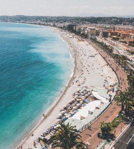 Aluguer de carro em Nice
